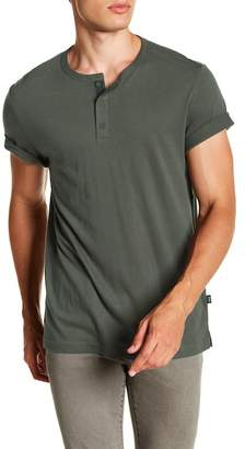Onia Elliot Short Sleeve Solid Henley
