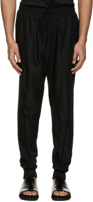 Song for the Mute Black Slim Track Pants $695 thestylecure.com