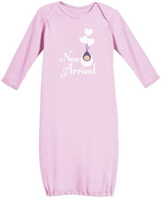 TeeStars New Arrival - Cute Night Gown for New Born Baby Infant Baby Long Sleeve Gown
