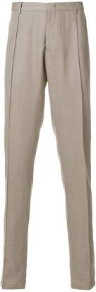 Emporio Armani regular fit trousers