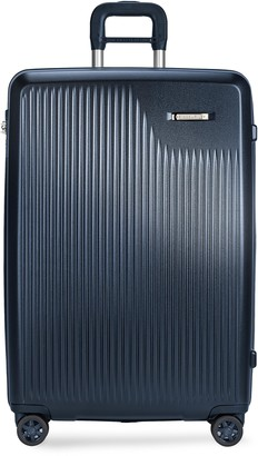 Briggs & Riley Sympatico large expandable spinner suitcase Matte Navy