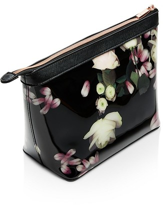 Ted Baker Kensington Floral Large Cosmetic Case $49 thestylecure.com