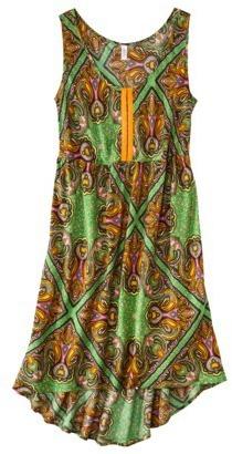 Xhilaration Juniors Sleeveless High Low Babydoll Dress - Assorted Colors