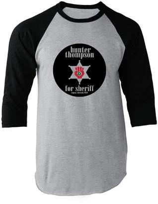 Hunter Pop Threads S. Thompson for Sheriff L Raglan Baseball Tee