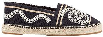 Fendi embroidered espadrilles