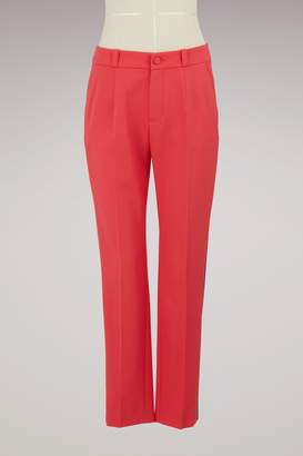 Lanvin Satin band pants