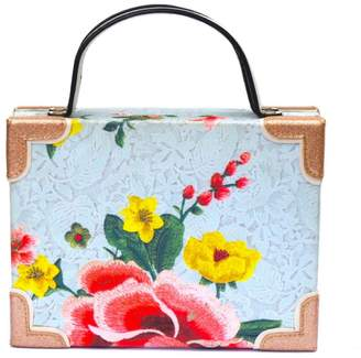 Simitri - Blue Flower Dust Briefcase