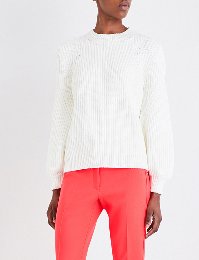 Victoria Beckham Needle Change chunky-knit jumper