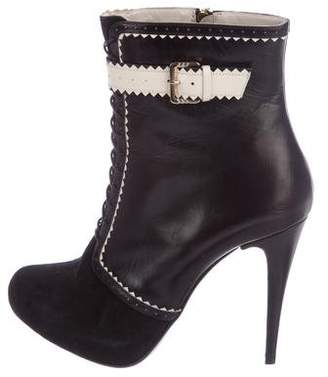 Jason Wu Leather Ankle Boots