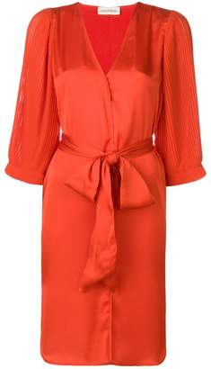 By Malene Birger belted V-neck dress