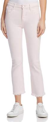 Paige Colette Crop Jeans in Faded Cotton Candy Pink - 100% Exclusive