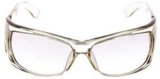 Gucci Mirrored Logo Sunglasses