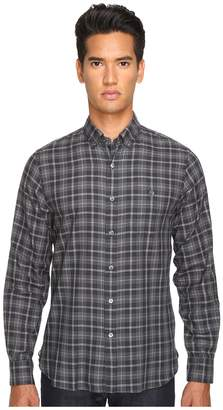 Todd Snyder Italian Small Check Button-Up Men's Clothing