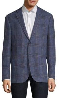 Regular-Fit Glen Plaid Sportcoat
