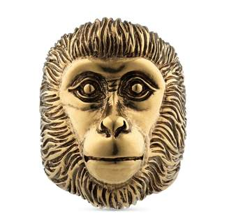 Gucci Monkey head ring