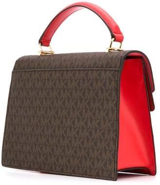 d0686cccf9c3 MICHAEL Michael Kors Brown Snap Closure Bags For Women - ShopStyle ...