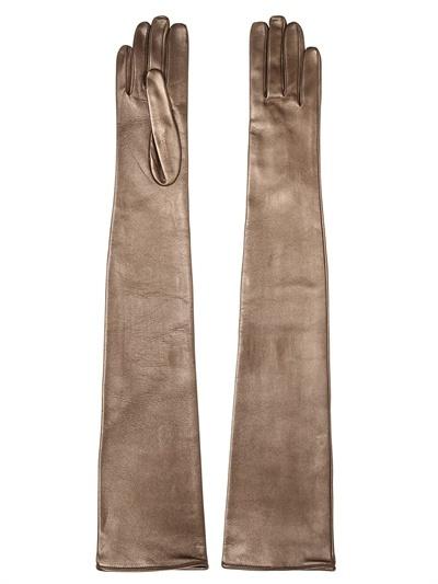 Portolano Mario Nappa Leather Long Gloves
