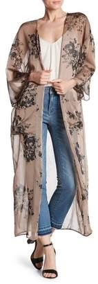 Dress Forum Maxi Sheer Kimono