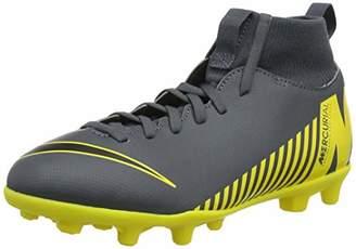 new concept ebabd f8d09 Nike Unisex Kids  Superfly 6 Club Mg Footbal Shoes, (Dark Grey Black