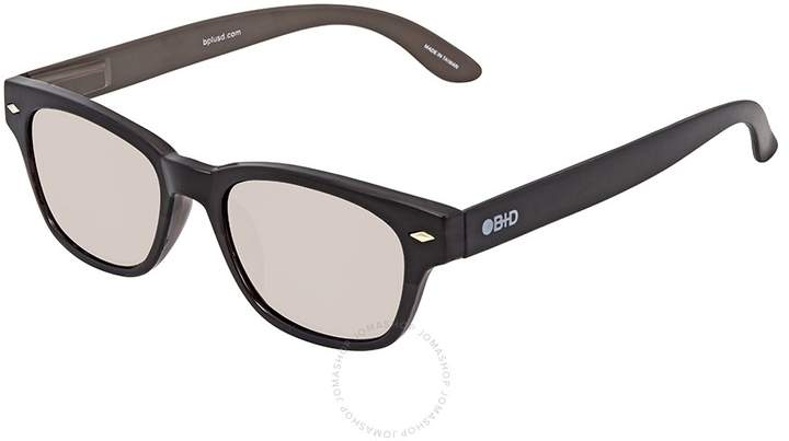 B+D Super Bold Sun Reader Brilliant Black Eyeglasses -15