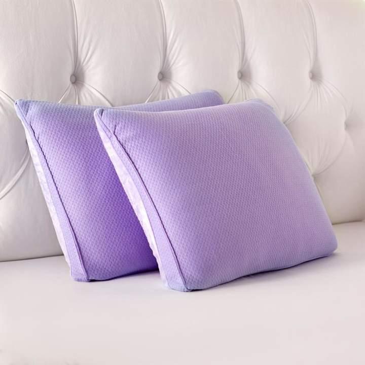Joy Mangano JOY Set of 2 Warm & Cool Universal Bed Pillows - Standard