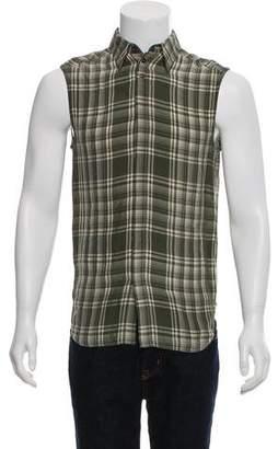 Wales Bonner Sleeveless Button-Up Shirt w/ Tags