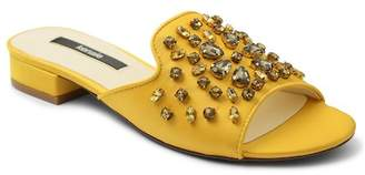 Kensie Kassie Embellished Slide Sandal $69 thestylecure.com