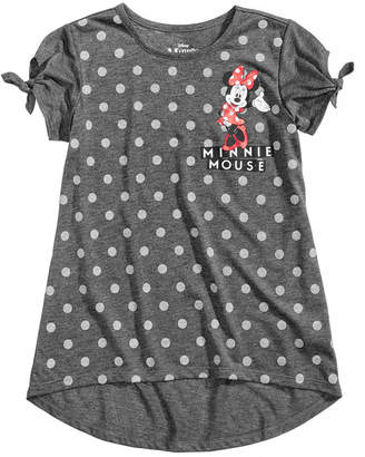 Disney Disney's Minnie Mouse Dot-Print Top, Big Girls