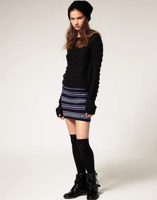 Asos (エイソス) - ASOS Fairisle Knitted Tube Skirt