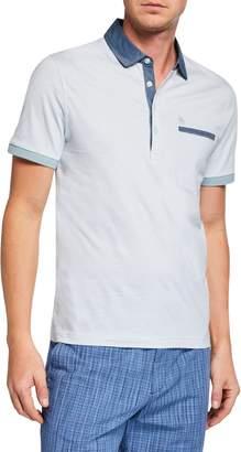 Original Penguin Men's Y D Stripe Polo Shirt