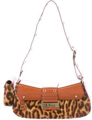 Christian Dior Ponyhair Street Chic Columbus Bag