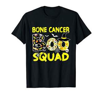 Sarcoma-Bone Cancer Boo Squad Ribbon Awareness Halloween Shi