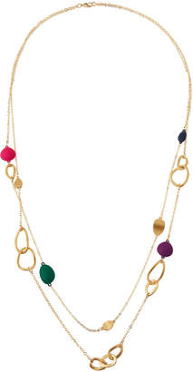 Fragments for Neiman Marcus Long Double-Strand Stone & Link Necklace