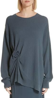 Sies Marjan Twist Detail Cashmere Sweater
