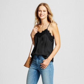 Who What Wear Women's Lace Trim Cami - Who What Wear $19.99 thestylecure.com