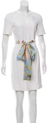 Emilio Pucci Short Sleeve Mini Dress