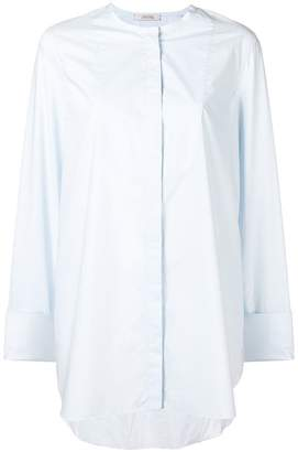 Schumacher Dorothee collarless shirt