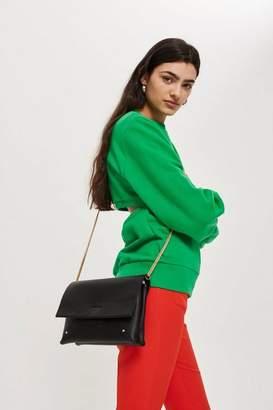 Leila clutch bag