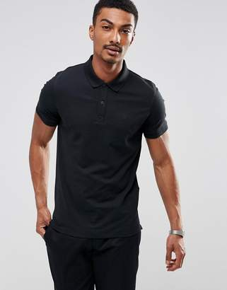Selected Polo Shirt with Chest Branding