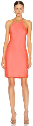 Alexander Wang Halter Mini Dress in Pink | FWRD