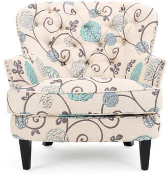 Andover Mills Hamburg Floral Armchair