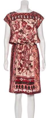 Alberta Ferretti Sleeveless Midi Dress w/ Tags