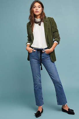 Paige Colette High-Rise Cropped Bootcut Jeans