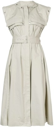 Proenza Schouler belted trench dress