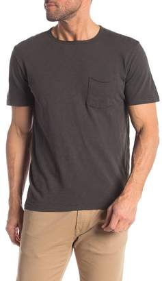Velvet by Graham & Spencer Crew Neck Short Sleeve Pocket T-Shirt