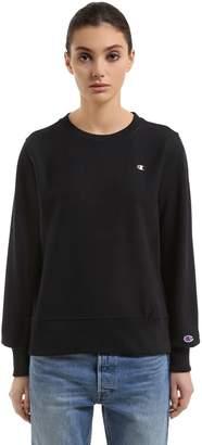 Champion Crewneck Cotton Sweatshirt