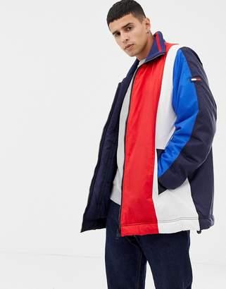 Tommy Hilfiger oversize colourblock jacket