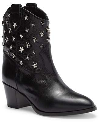 RED Valentino Studded Leather Western Boot