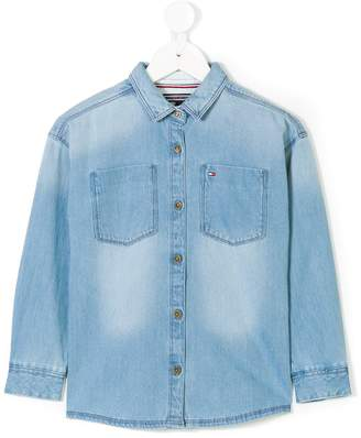 Tommy Hilfiger Junior classic denim shirt