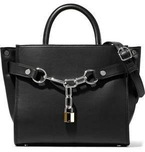 Alexander Wang Attica Chain-embellished Leather Shoulder Bag